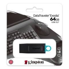 Kingston DataTraveler Exodia 64GB USB 3.2 (DTX/64GB)