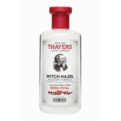 Nước hoa hồng Thayers Witch Hazel Aloe Vera Formula # Rose Petal 355ml