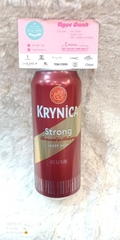 Bia Krynica Strong Nga lon 500ml