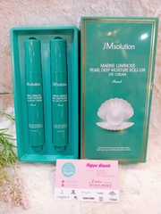 Lăn dưỡng mắt JM Solution Marine Luminous Pearl Deep Moisture Roll-On Eye Cream 15ml