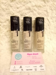 Kem nền Catrice all matt plus 30ml #010, #015, #020