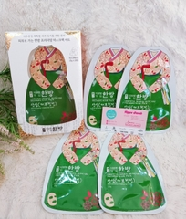Mặt nạ Oriental Herbal Skincare Premium Mask Pack cleansing type 5 miếng/hộp