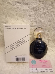 Nước hoa BVLGARI Goldea the roman night edp tester 75ml