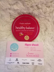 Phấn nén Bourjois Healthy Balance #53 Beige Clair Light Beige