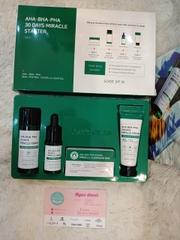 Set dưỡng  Some By Mi AHA-BHA-PHA 30 days Miracle starter mini