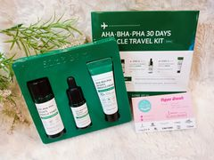 Bộ Trị Mụn Some By Mi AHA- BHA-PHA 30 Days Miracle Travel Kit 3 món