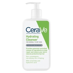 Sữa rửa mặt Cerave Hydrating cleanser for dry to normal skin 237ml