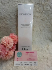 Sữa rửa mặt Diorsnow White Reveal gentle purifying foam 100gr