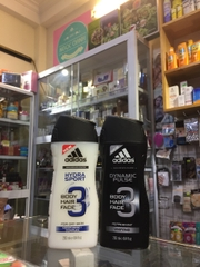 Tắm gội Adidas 3in1 Dynamic Pulse, Hydra Sport 250ml