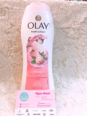 Sữa tắm Olay Fresh Outlast Cooling #White Strawberry & Mint 700ml