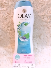 Sữa tắm Olay Fresh Outlast Purifying #Birch Water & Lavender 700ml
