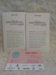Sample tẩy da chết Philosophy the microdelivery resurfacing peel