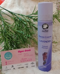 Xịt thể Three Beauties English Conutry Lavender 100ml