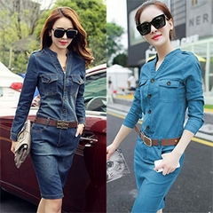 Đầm Jean Co Giãn Mochino_GS140 - 3014
