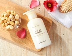 Dầu Gội Giữ Nếp Innisfree My Hair Recipe Curl Up Shampoo (Hair Care)