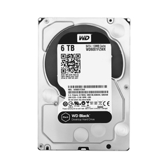 WD HDD Black 6TB 3.5
