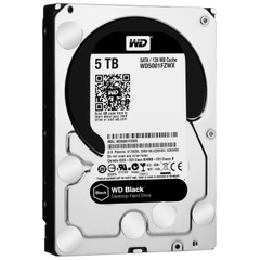 WD HDD Black 5TB 3.5