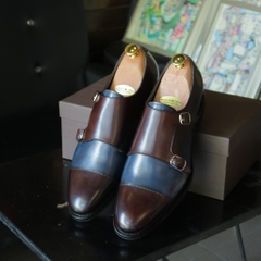 Bespoke Double Monk Strap Bolognese Construction
