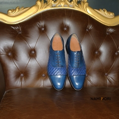 Giày Oxford Da Đan (Braided Oxford)
