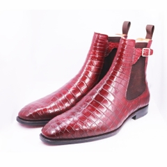 Chelsea Boots CL03 Burgundy 46