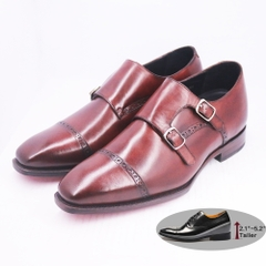 Quater Brogues Double Monk TCC - MTO
