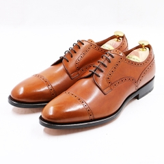 Quater Brogues Derby AL06 Tan 433