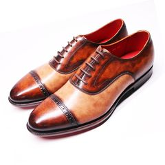 Punch Cap Toe Oxford XL06