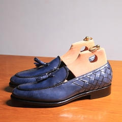 Tassel Loafer with Back Braided MTO