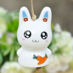 Wind chimes blue rabbit