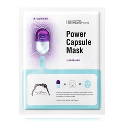 MẶT NẠ  OOZOO POWER CAPSULE MASK LIGHTENING #HPBD