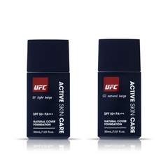 KEM CHE KHUYẾT ĐIỂM UFC NATURAL COVER FOUNDATION 30ML  #01 LIGHT BEIGE  #02NATURAL BEIGE