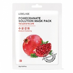 MẶT NẠ LEBELAGE POMEGRANATE SOLUTION MASK PACK (mặt nạ lựu)