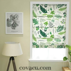 Vải canvas tropical lá kim