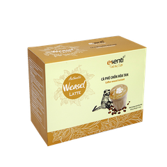Authentic Weasel Coffee Latte - 20 gói x 16gr