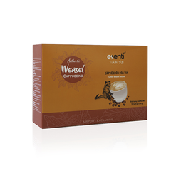 Authentic Weasel Coffee Capuchino - 6 gói x 18gr