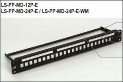 LS-PP-MD-24P-E, 24-Port Unshielded Empty Patch Panel