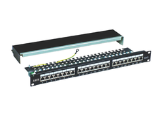 Patch Panel ALANTEK 24 port Cat6 | 302-201601-24AB