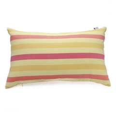 Gối Trang Trí Sofa Soft Decor 30 Yellow Red Stripe