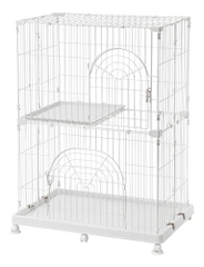 IRIS Wire Pet Cage/Cat Playpen - Lồng cho mèo 2 tầng CAO CẤP PEC - 902