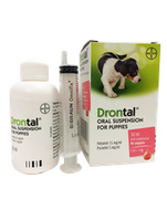 Drontal Oral Suspension for Puppies - Dịch xổ giun cho chó con