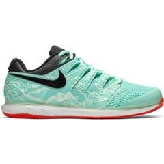 Giày Tennis Federer 2019 Nike Air Zoom Vapor X AGreen/BlackTeal (AA8030-301)