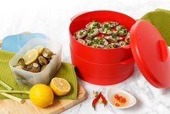 Tupperware Hà Lâm - Xửng hấp Steam It - Chili