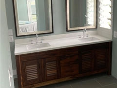 Bathroom cabinet Muong solid Wood