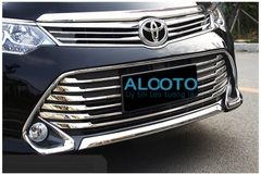 ỐP MẶT CALANG MẠ CROM XE CAMRY 2016 - 2018