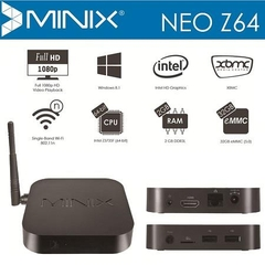 Minix Z64 Windows 8.1