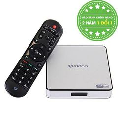 ANDROID TV BOX ZIDOO X6 PRO 64-BIT OCTA CORE