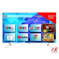SMART TIVI ASANZO 55 INCH 4K  55AU8300 (VOICE SEARCH)