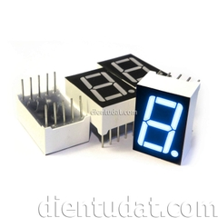 LED 7SEG  8106BS BLUE ANODE