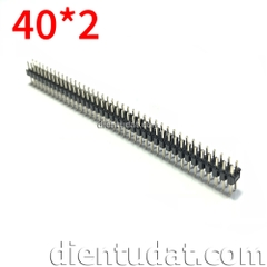 Header 2*40 Pin Male 2.54mm Ngắn