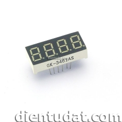 LED7 3461AS-1 Đỏ 0.39 inch KATOT